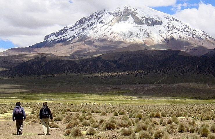 lugares para visitar en oruro bolivia parque nacional sajama