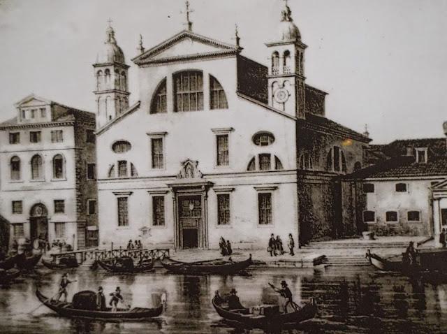 The church of Santa Lucia, Venice