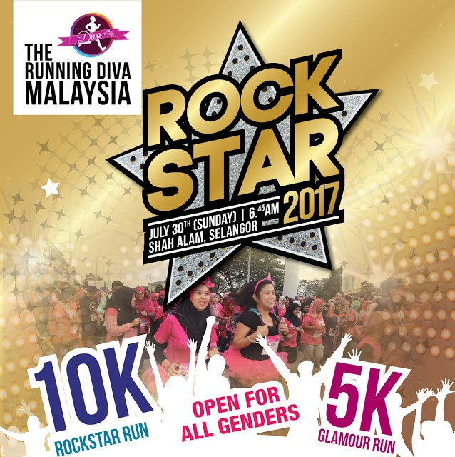 The Running Diva Malaysia Rock Star 2017