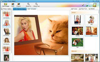 Funny Photo Maker to create photo montages