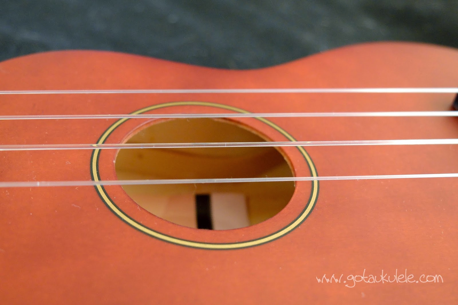 Stagg US10 Soprano Ukulele sound hole