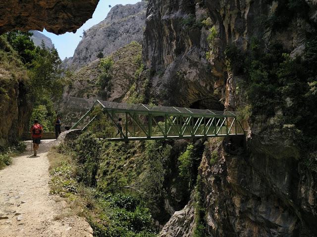 Puente de los Rebecos en ls Senda del Cares