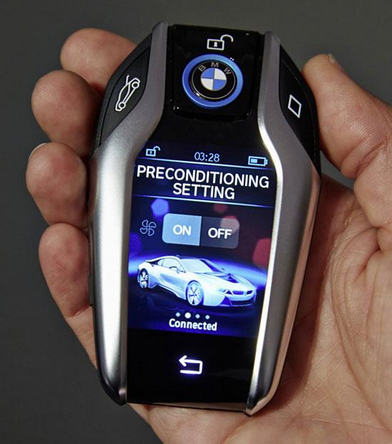 شاهد مفتاح سيارة BMW أكثر من مجرد مفتاح