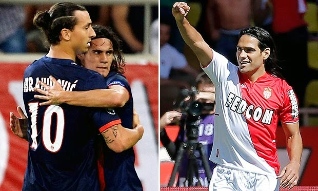 PSG v Monaco: Live Stream 5 October 2014