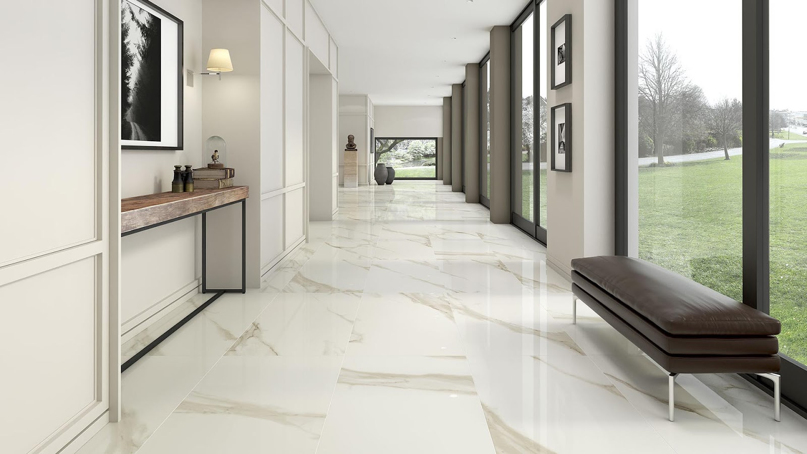 Tiles decoration ideas with Zirconio\'s collection | Floor & Wall ...