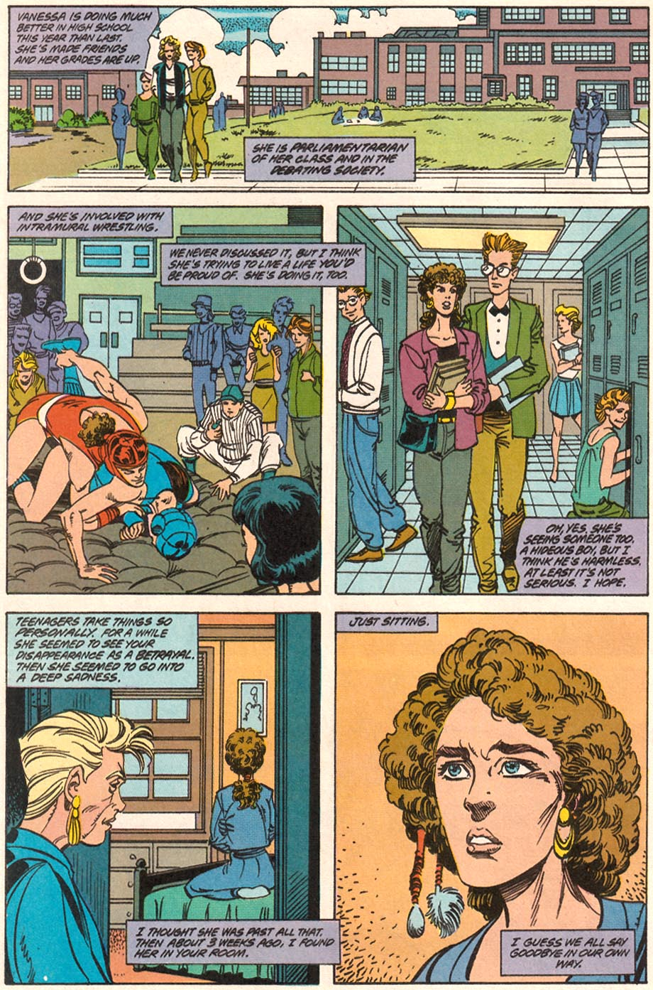 Read online Wonder Woman (1987) comic -  Issue #71 - 19