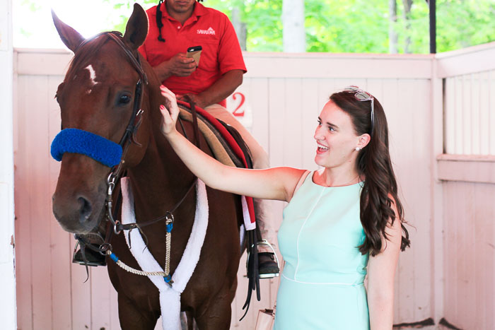 Krista Robertson, Covering the Bases, Travel Blog, NYC Blog, Preppy Blog, Style, Fashion Blog, LifeStyle Blog,  Saratoga Races, NY, Mint Dress, Spring Style, Summer Fashion, Pastel Dresses, Fashion, Summer Must Haves