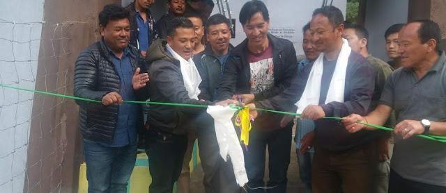 Sirikhola Hanging bridge inaugurated