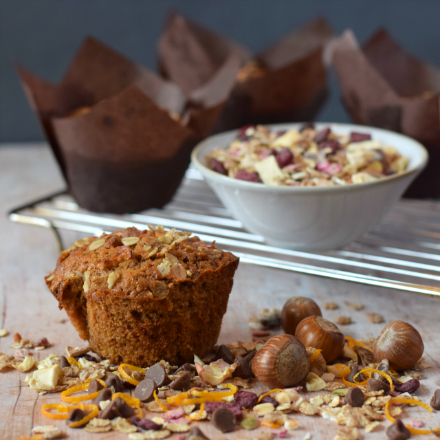 Breakfast Muesli Muffin recipe