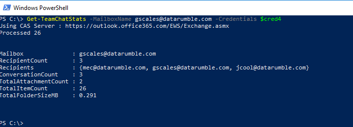 Glen's Exchange and Office 365 Dev Blog: Looking into the