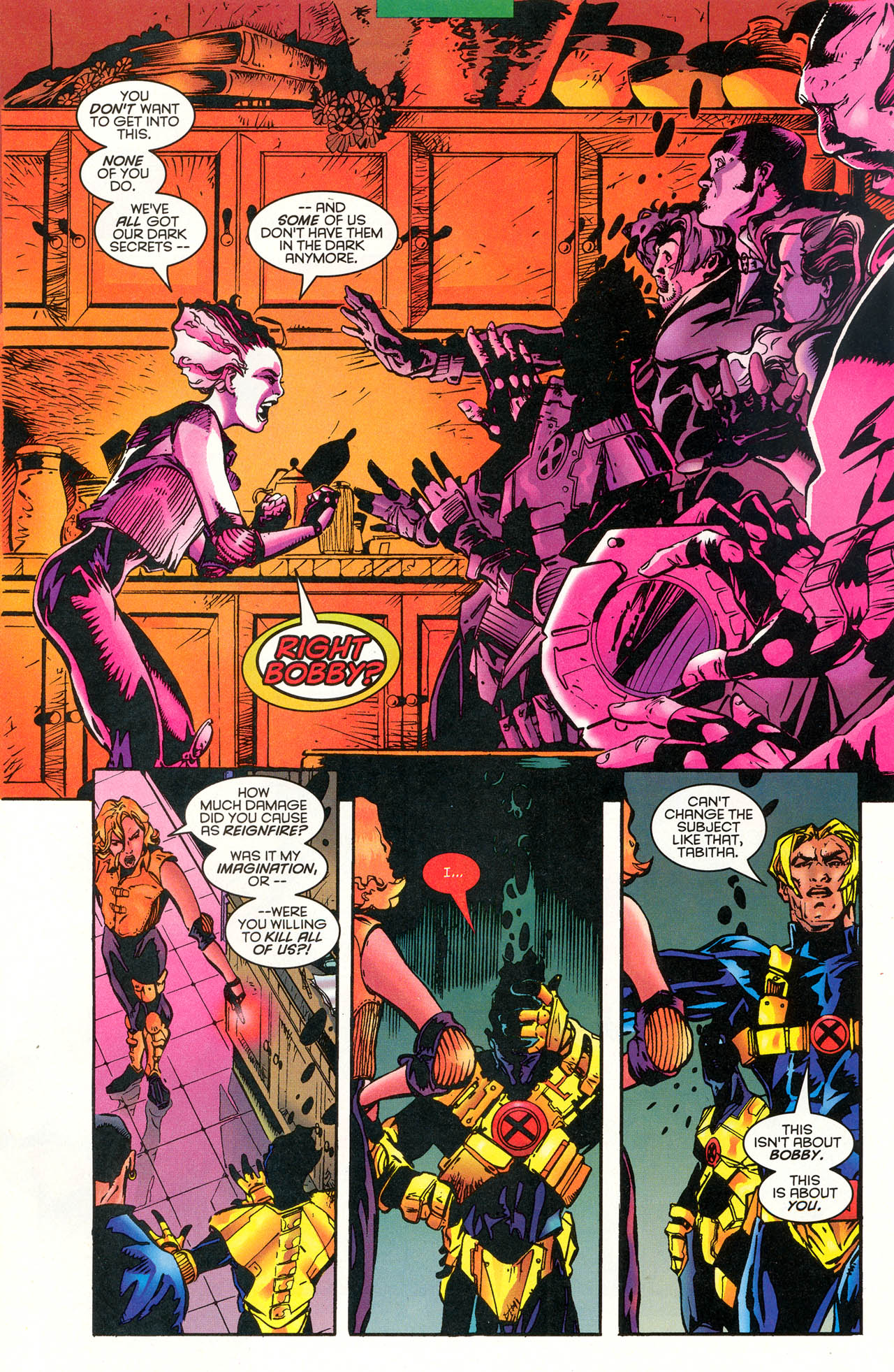 Read online X-Force (1991) comic -  Issue #48 - 12