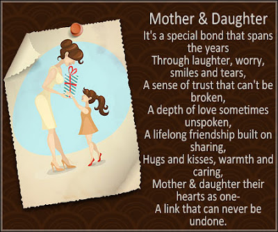 Short Mother's Day 2018 Poems From Daughter to MOM