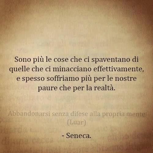 Frasi Di Seneca Sulla Vita