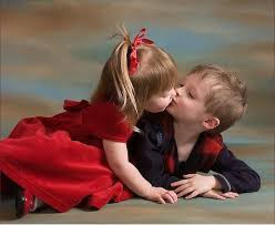 Top latest hd Baby Boy to Girl frist kiss images photos pic wallpaper free download 19