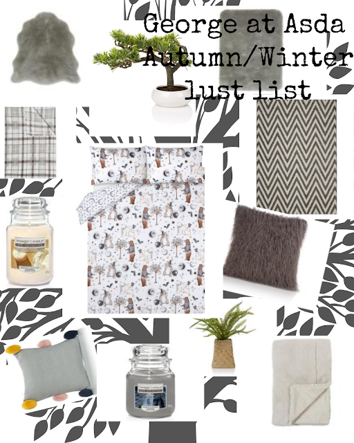 George at Asda Autumn/Winter homeware lust list