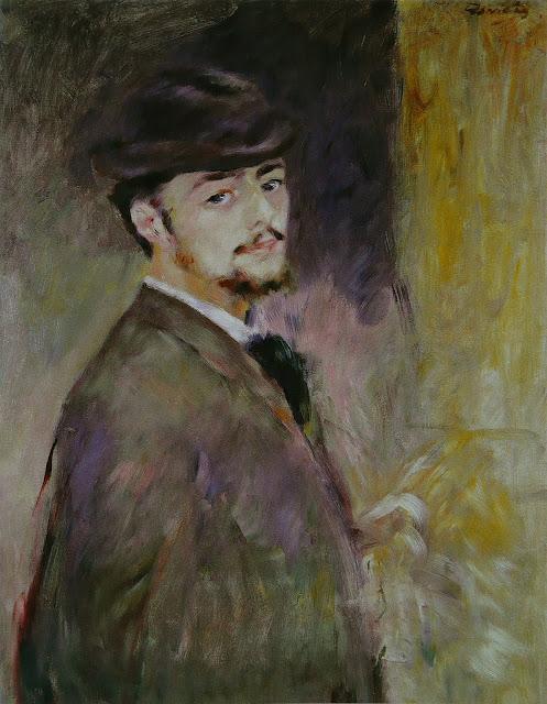 Pierre-Auguste Renoir, Autorretrato, (1876)