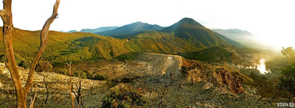 Sejarah Penamaan Gunung Papandayan