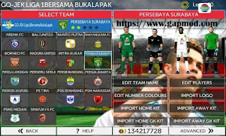 Download FTS Mod FIFA 18 Full Transfer by Andri Apk + Data Obb