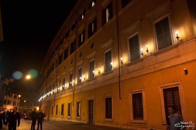 Citytrip Rome Italie de nuit