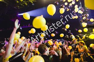 воздушные шары на вечеринке