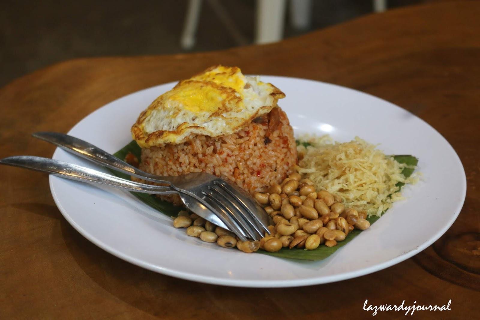 Lezatnya Nasi Goreng Puyung Ala Acibara Coffee Lazwardy