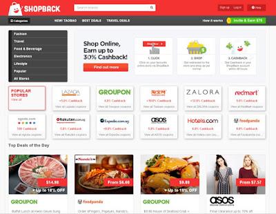 Hemat Belanja OnLine Dengan Shopback