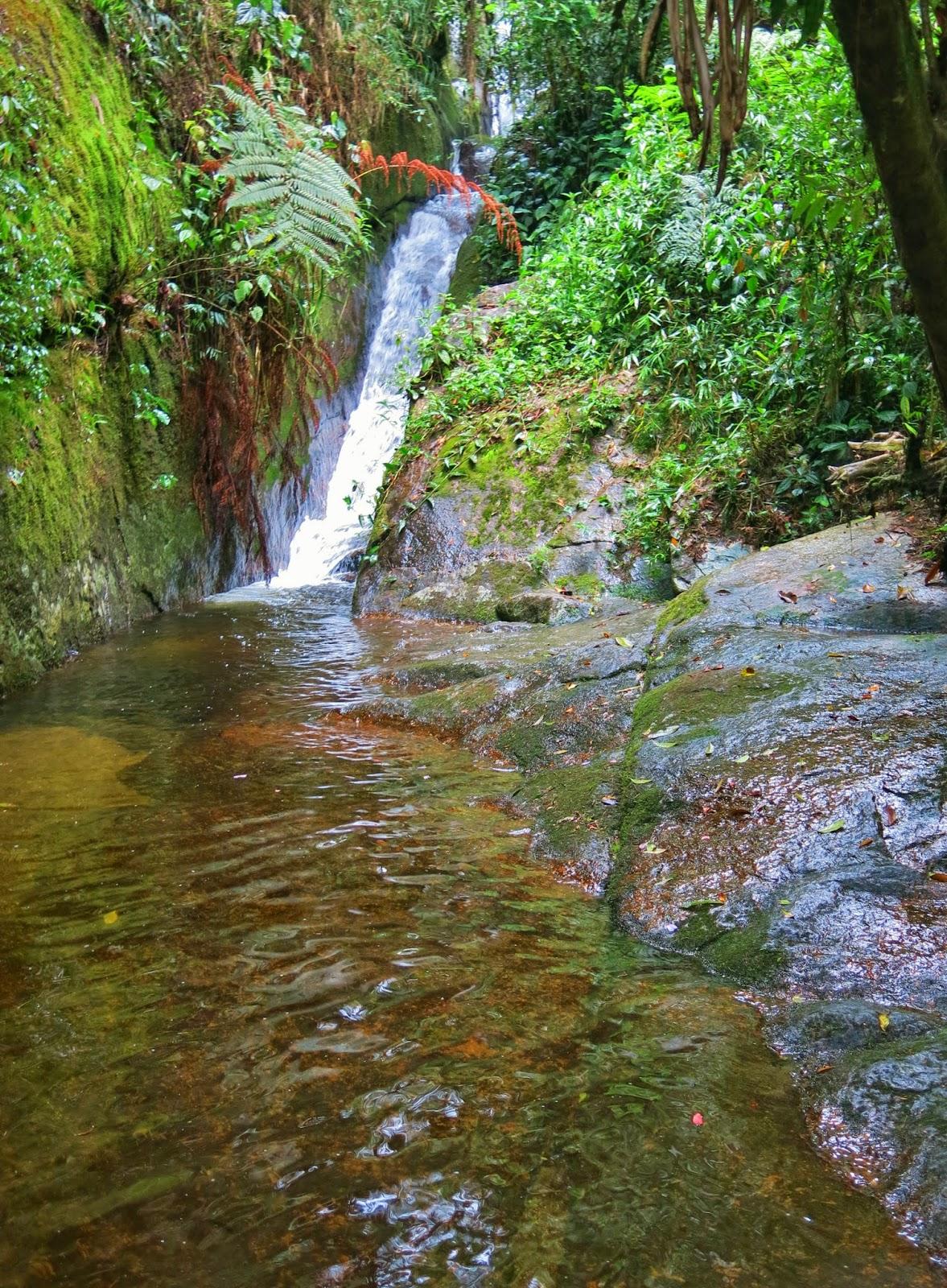 Cachoeira da Muralha, no Vale do Alcantilado, em Visconde de Mauá.