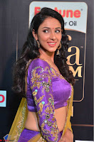 Priya Sri in Purple Choli Stunning Beauty at IIFA Utsavam Awards 2017  Day 2 at  18.JPG