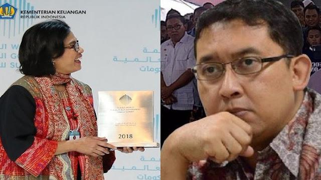 DPR Ingin Berikan Penghargaan Untuk Menteri Sri Mulyani, Fadli Zon Protes Keras Karena Menurutnya Tak Pantas