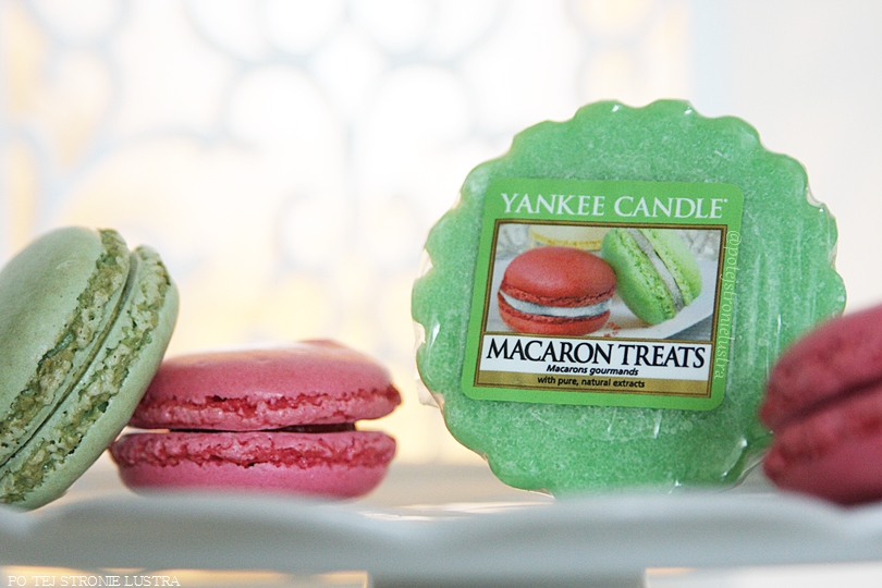 wosk zapachowy yankee candle macaron treats i kolorowe makaroniki