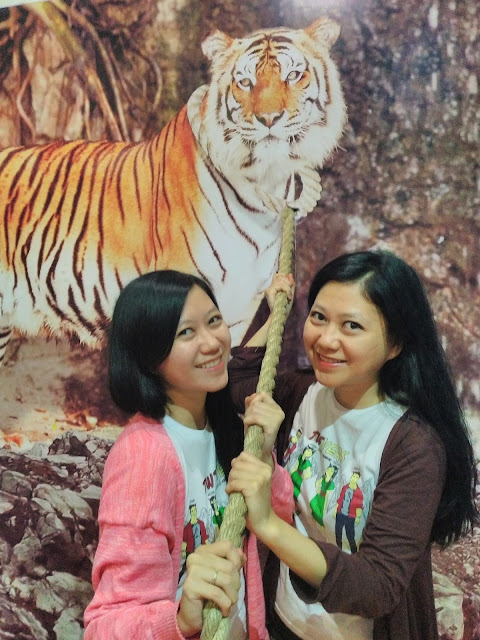 Ego kita serupa Harimau, si Raja Hutan.