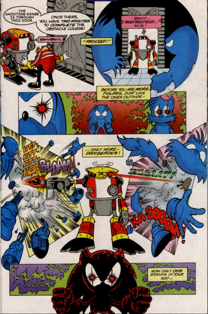 Read online Sonic The Hedgehog comic -  Issue #82 - 18
