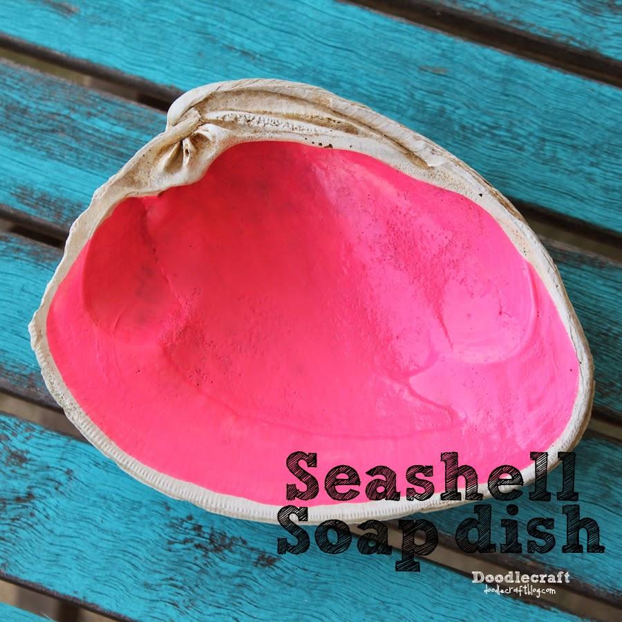 http://www.doodlecraftblog.com/2014/08/seashell-soap-dish.html