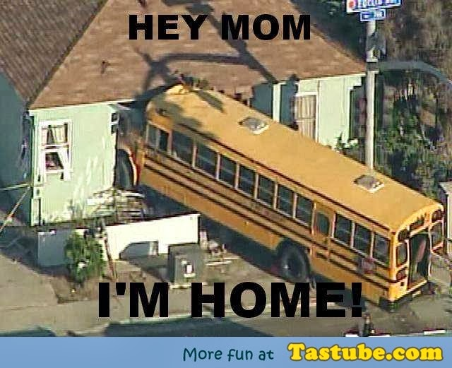 Hey MOM am at home