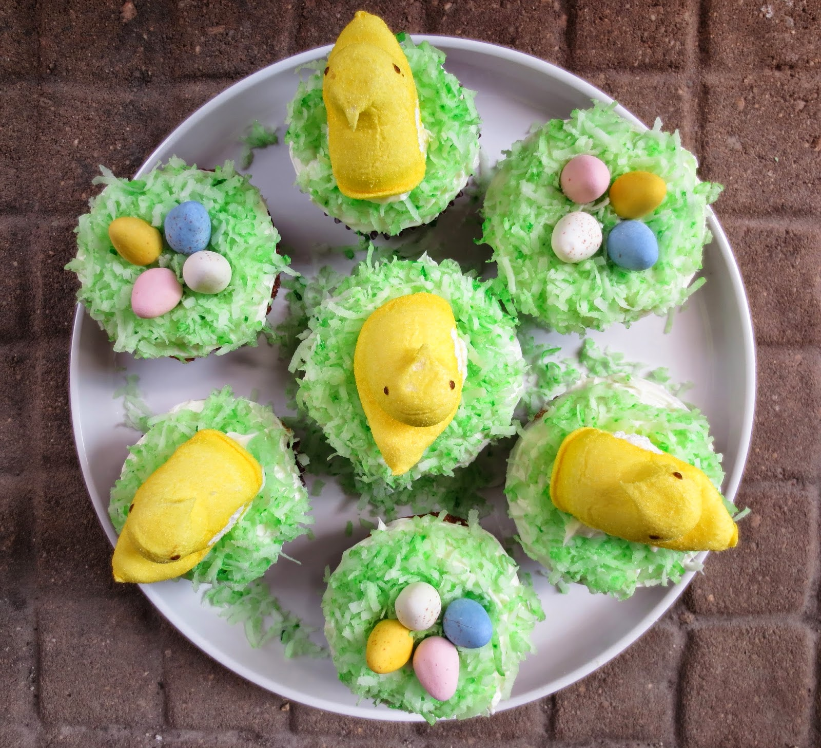 Eat With Grace: Easter Cupcake Decorating Ideas