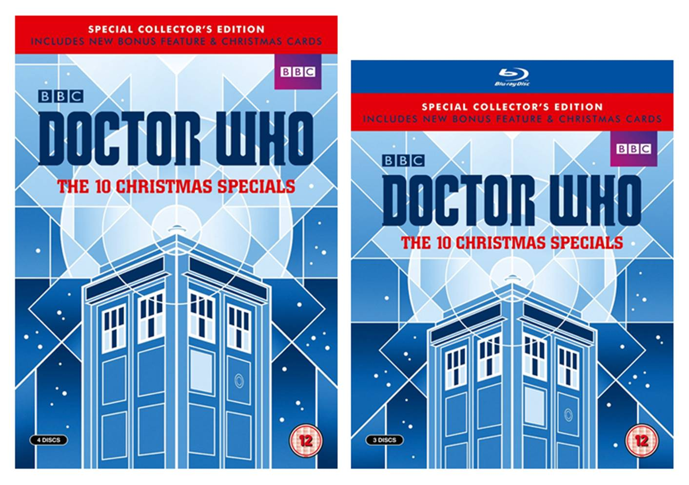 Doctor Who Christmas Cards.The Ultimate Doctor Who Site The 10 Christmas Specials Dvd Blu