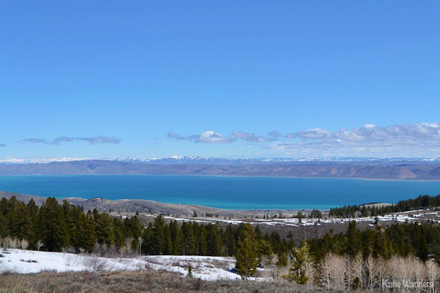 View of Bear Lake from the Visitor's Center