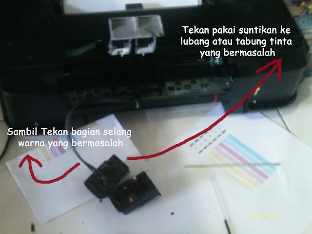 cartridge yang dikeluarkan dari printer