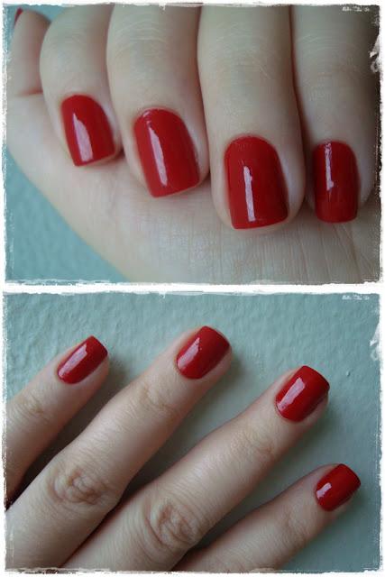 esmalte nailpolish vermelho mereje