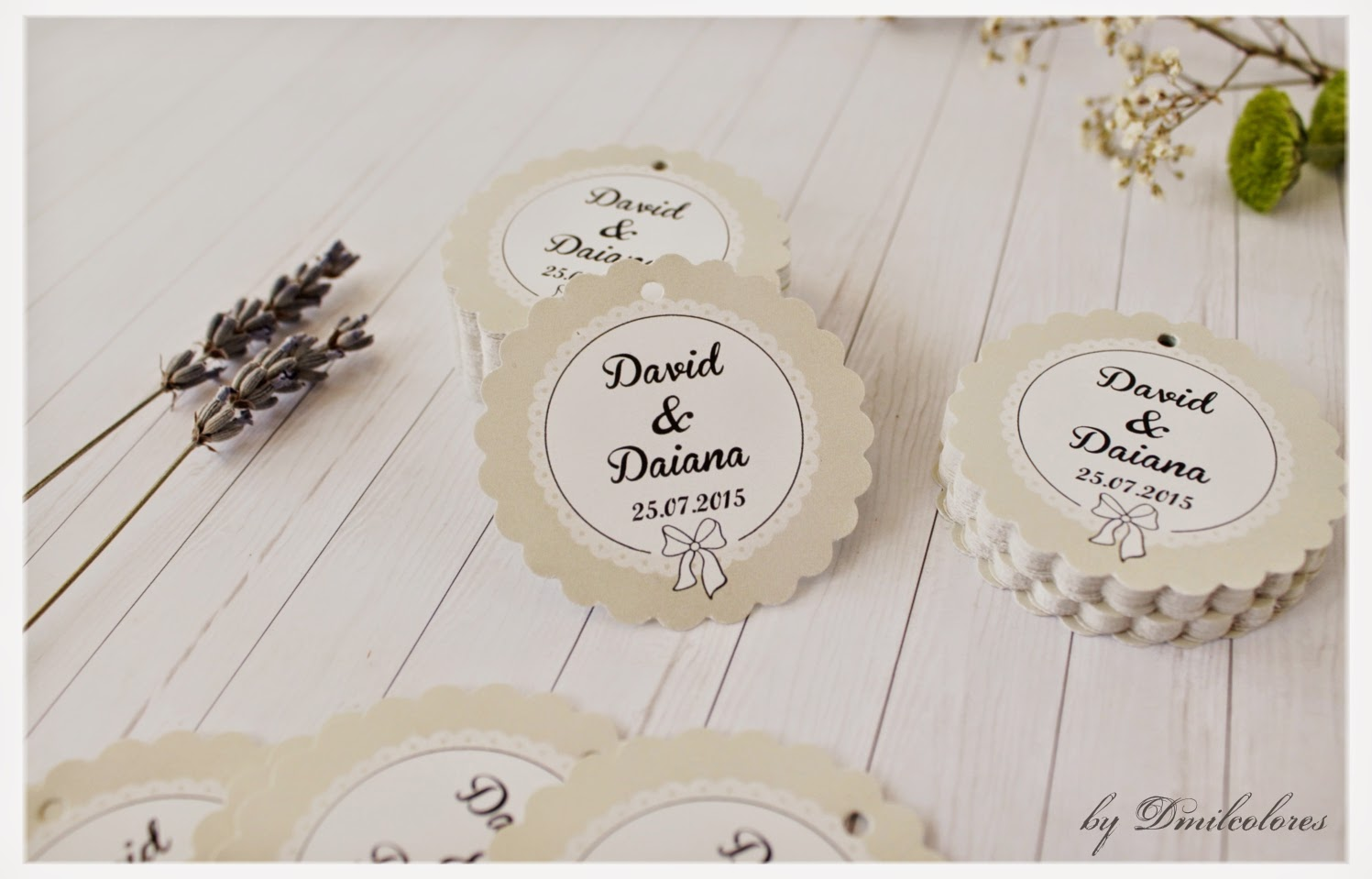 etiquetas de boda 2015