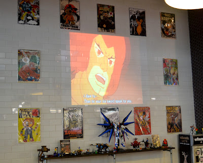 Chris Hamer's art (Urbnpop) at Grindhouse Killer Burgers, Sweet Auburn Curb Market