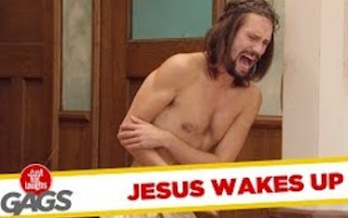 Funny Video – Jesus Wakes Up on the Cross – Just For Laughs Gags