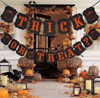 halloween hanging banner decoration