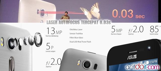 Kamera mumpuni semakin lengkap dengan teknologi Laser AutoFocus