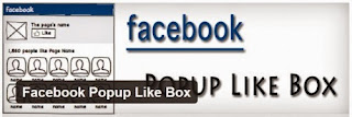 Facebook Pop-Up Like Box with Timer for Blogger