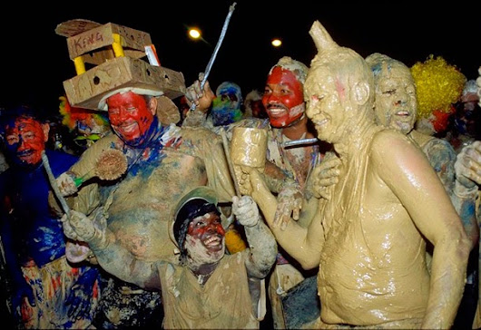 J'OUVERT TRADITION CARNAVALESQUE TRINIDADIENNE !!!