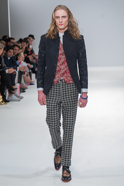houndstooth pants for men