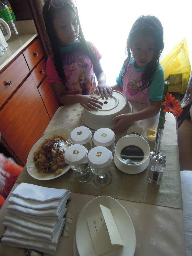 Room service at Shangri-La's Mactan Resort and Spa