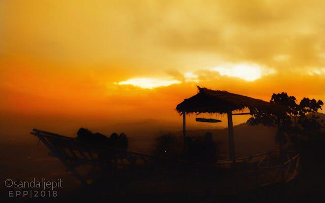 Senja di Bukit Bulak