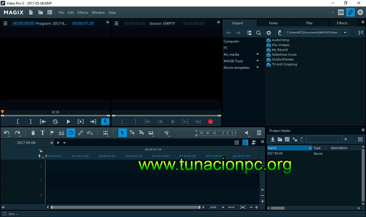 MAGIX Video Pro Imagen
